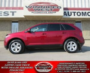 2013 Ford Edge SEL AWD, HEATED LEATHER,PAN ROOF, NAV, LIKE NEW!