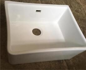 Brand New RAKS Ceramic Belfast Sink - Large 60cm 600mm RRP £180