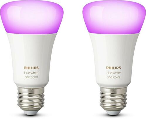 ≥ Philips Hue White and Color E27 Duopack | Nieuw, Gratis Bezo ...