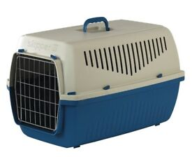 NEW Marchioro skipper 3 carrier blue 62x41x38cm high Ideal for Falcons and pets in general