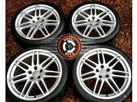 """19"""" Genuine Audi RS4 alloys, good condition, matching tyres."""