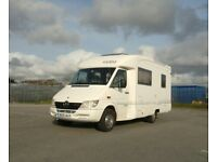 Rapido 779F 2001 Motorhome on sought after Mercedes-Benz Sprinter 2.2cc engine