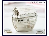 Noah's Ark Money Box-Personalised