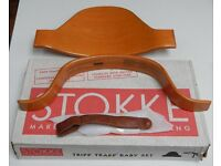 Baby seat adaptor and cushions for a Stokke Tripp Trapp high chair