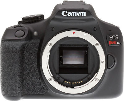 Canon EOS Rebel T6 DSLR Camera (Body Only) Brand New