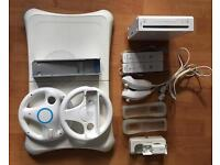 Nintendo Wii + 17 Games + Accessories