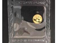 Chinese Panda 1gram gold coin