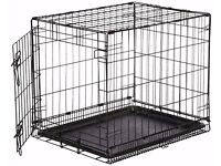 Small dog crate as new