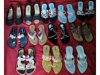Brand new women sandals asian style 12 pairs