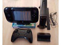 32GB Wii U + 3 games + Pro controller