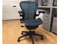 Herman Miller Aeron Office Chair - Dark Green