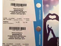 Anastacia - Glasgow Royal Concert Hall 30th May 2017