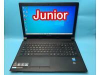 Lenovo Fast 4GB Ram 500GB Slim HD Laptop, Windows 10, HDMI, Microsoft office, Excellent Condition
