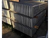 🌤 Concrete Base Panels/ Gravel Boards & Fencing Posts ~ New