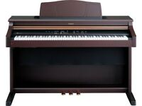 Roland HP-107 Digital piano and stool -full size weighted keyboard with escapement 128note polyphony