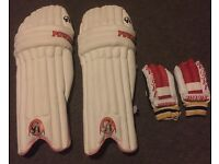 CA CRICKET BATTING PADS ( juniors)