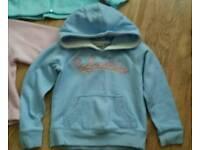Columbia girls hoodie age 5 yrs