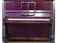Upright Piano, Johann Kuhse, Dresden