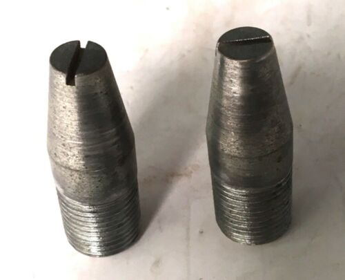 "2 New-Old-Stock 5/8"" N.F. Guide Pins Wheel Rim Bolt PG2"