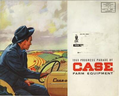 1960 Case 430 530 630 Tractor Sales Brochure With Case-o-matic Drive