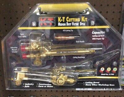 Professional K-t Cutting Torch Kit Medium Fury Victor Style