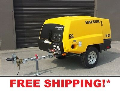 New Kaeser M50 - 185 Cfm Air Compressor - Free Shipping In Stock