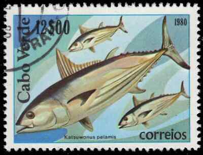 "CAPE VERDE 414 - Skipjack Tuna ""Katsuwonus pelamis"" (pa57691)"