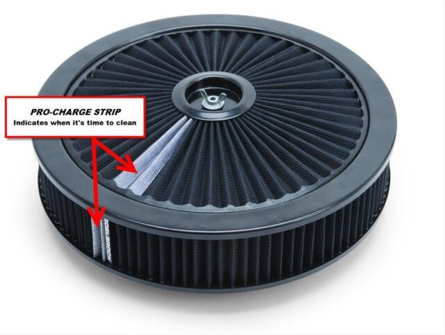 "Edelbrock Pro-Flo High-Flow Series Air Cleaner 14"" x 3"" # ED43662"