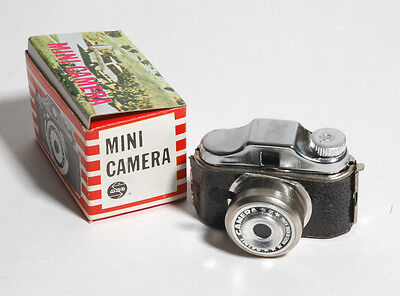 "Vintage Subminiature Spy Camera Hit-Type ""Mini Camera""+Box-WORKS-NEAT!!!"