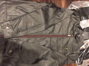Leather Jacket Emporio Ferrari Small/Medium