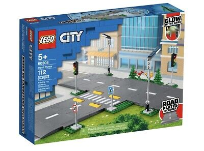 LEGO CITY 60304 PIATTAFORME STRADALI
