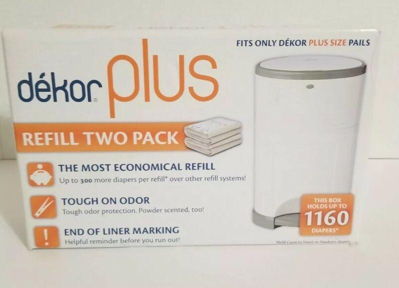 Dekor Plus Refill 2 Pack New Sealed Box