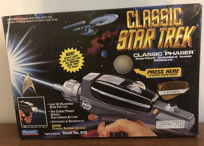 Classic Star Trek Classic Phaser Starfleet Standard Issue Sidearm