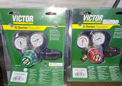New Victor G150 Regulator Set Oxygen Acetylene Welding Cutting Torch Cga-200