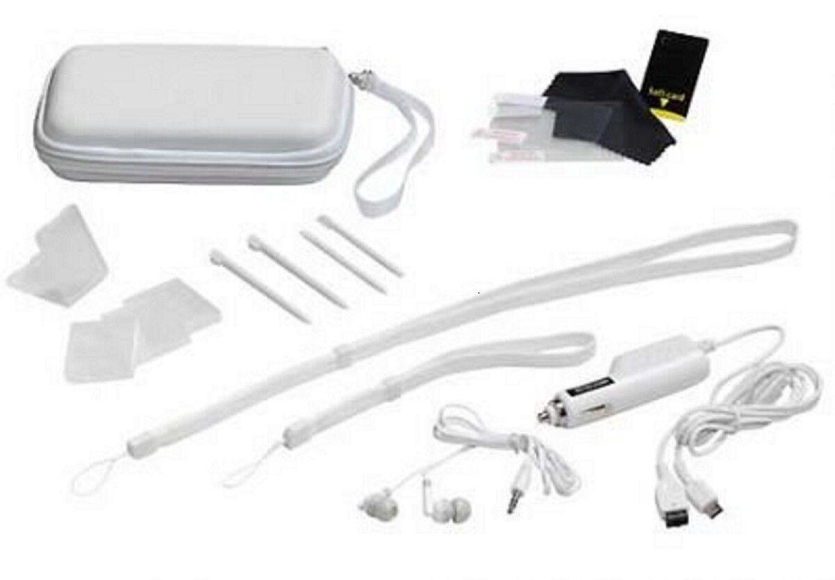 Nintendo DS Lite Reiseset 9in1 Tasche Kopfhörer Spielhülle Ladeadapter Folie