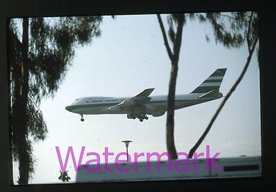 35mm  Photo slide  Cathay Pacific Jet Airliner Airplane Aircraft Aviation