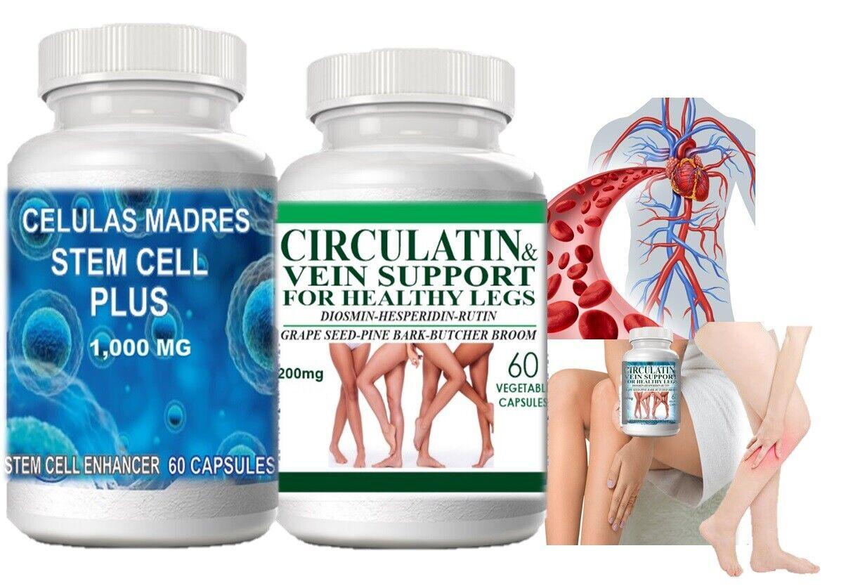 Suplemento Natural Para La Circulacion Sangre Piernas Corazon Diabeticos Glucosa