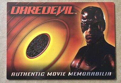 BEN AFFLECK MARVEL DAREDEVIL COSTUME CARD TOPPS 2003 RELIC VARIANT BATMAN HTF