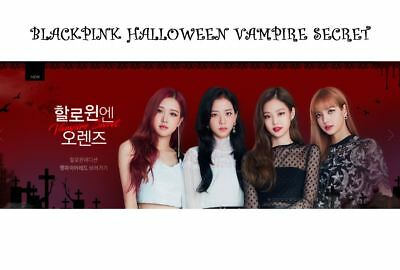 [OLENS] - BLACKPINK Hallowin Costume Vampire Red Lens Official - Hallowin Costume