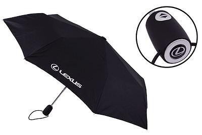 Genuine Lexus Black Automatic Telescopic Umbrella - GBNGAFBL86