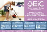 PROFESSIONAL CARPET CLEANING & FLOOR STRIP AND WAX SERVICES