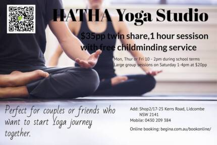 Yoga Class with childminding