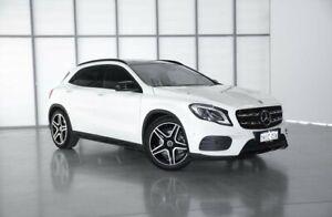 2017 Mercedes-Benz GLA-Class X156 808MY GLA250 DCT 4MATIC White 7 Speed Sports Automatic Dual Clutch