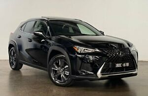 2021 Lexus UX MZAA10R UX200 2WD Luxury Black 1 Speed Constant Variable Hatchback South Melbourne Port Phillip Preview