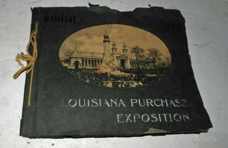 1904 ST. LOUIS LOUSIANA PURCHASE EXPOSITION OFFICIAL PHOTO ALBUM
