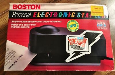 Electronic Stapler......boston Made In U S A .....pre-owned Tested Works Great