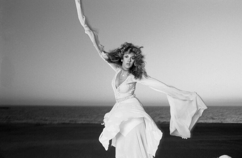 Stevie Nicks Posing On The Beack 8x10 Photo Print