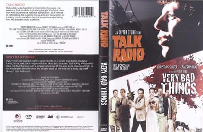 DVD: DOUBLE FEATURE:  TALK RADIO & VERY BAD THINGS.....ERIC BOGOSIAN for sale  Eufaula