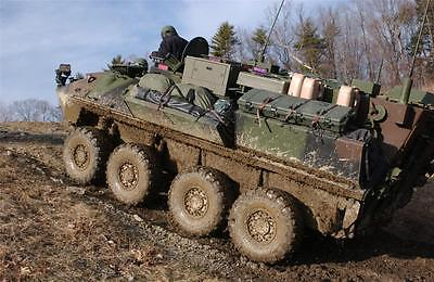 LIGHT ARMORED VEHICLE GLOSSY POSTER PICTURE PHOTO army marines tank cool (Marines Armored Vehicle)