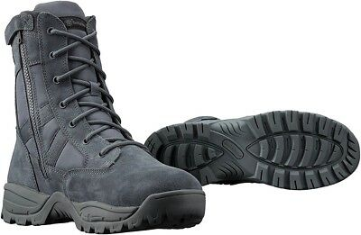 "Smith & Wesson Breach 2.0 Waterproof 9"" Side Zip Tactical Boots, Gunmetal Grey"
